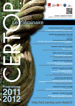 CERTOP Le Séminaire 2011-2012