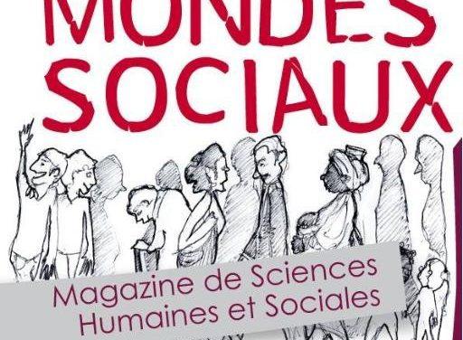Mondes Sociaux – Magazine de Sciences Humaines et Sociales