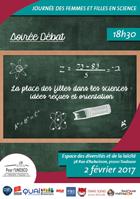 Journée «Des femmes et filles en science» – Jeudi 2 février 2017, Toulouse