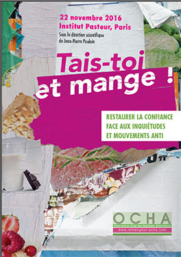 Colloque OCHA «Tais-toi et mange !» – Mardi 22 novembre 2016, Paris