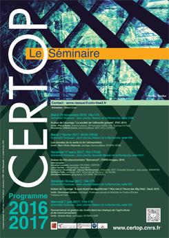 CERTOP Le Séminaire 2016-2017