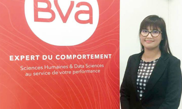 Phuong Thao BUI-NGUYEN lauréate du Grand Prix BVA de la recherche en marketing 2017