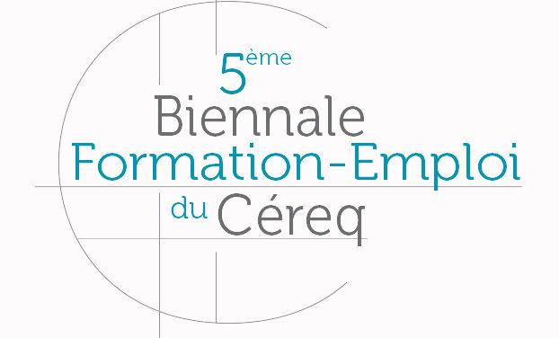Céreq : Les interventions de la 5e Biennale sur le thème «20 ans d'insertion professionnelle des jeunes», 2017