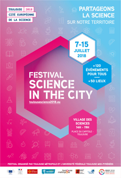 Festival « Science in the city », 7-15 juillet 2018