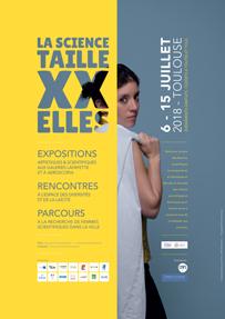 Exposition «La science taille XX elles», ESOF 2018