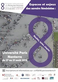 8e Congrès International des Recherches Féministes dans la Francophonie