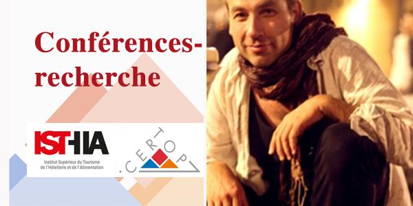 Conférences-recherche ISTHIA-CERTOP : Invité Bernard SCHÉOU – Jeudi 18 octobre 2018, 14h
