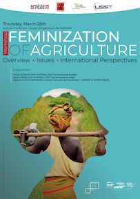 Workshop « Feminization of Agriculture : overview, issues and international perspectives »