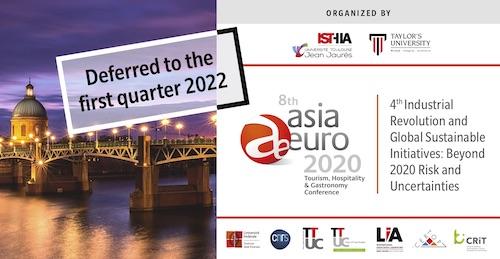 8th Asia-Euro 2022 France UT2J Isthia Certop Taylor's University Malaysia