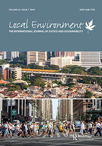 Local Environment The International Journal of Justice and Sustainability