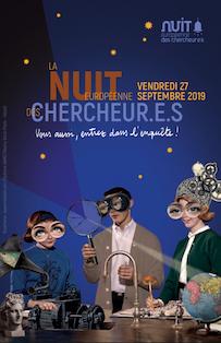 15e Nuit Européenne des Chercheur.e.s « Vous aussi, entrez dans l'enquête ! » – vendredi 27 septembre 2019, 18h-00h