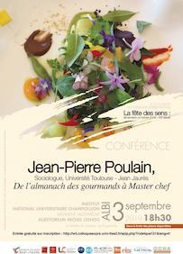 Conférence : «De l'almanach des gourmands à Master chef» Jean-Pierre Poulain
