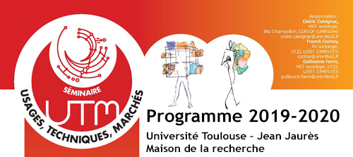 LabEx SMS : Séminaire Usages, Techniques, Marchés  – Vendredi 24 janvier 2020, 14h