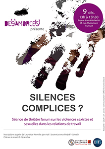 theatre forum violences UT3 CNRS 2019