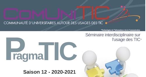LabEx SMS : Séminaires PragmaTIC – Jeudi 3 décembre 2020, 13h «Comment faire face à la désinformation et au discours de haine en ligne ? Technologies, pratiques et recherches»