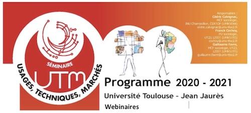 LabEx SMS : Séminaire UTM  2020-2021 – Vendredi 18 décembre, 14h (en ligne) avec François Purseigle et Mathieu Rajaoba