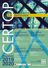 CERTOP Le Séminaire – 2019-2020