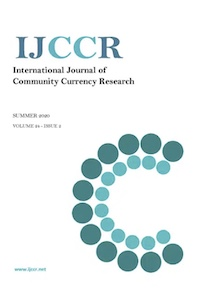 Article: « The Eusko's trajectory. Hypotheses to understand the success of the complementary local currency of the Northern Basque Country » J. Milanesi & al.