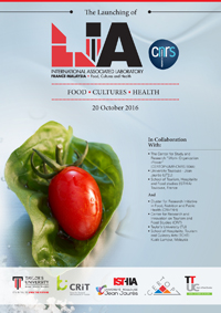 Launching of the International Associate Laboratory «Food, Cultures and Health» October 20, 2016 – Malaysia